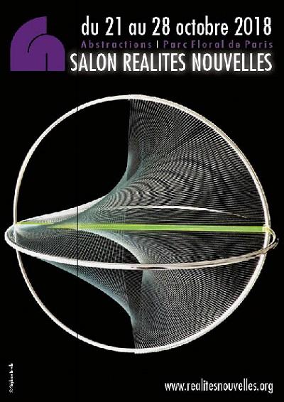 Réalités Nouvelles 201, Paris. Vernissage le 20, jusqu'au 28 octobre.