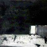 The night 70x50cm