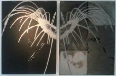 Détail l'araignée de Louise Bourgeois