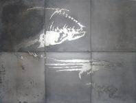 Fantasma. 100x75cm