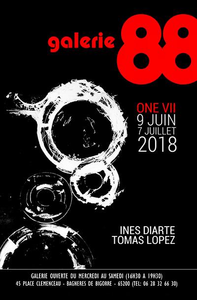 Galerie 88 - Vernissage le samedi 9 juin, exposition jusqu'au 7 juillet