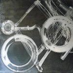 In Vino Cosmos III 1. 80x80cm
