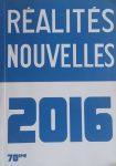Réalités Nouvelles 2016